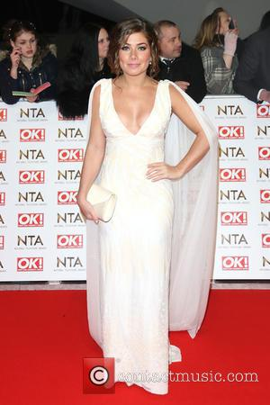 Nikki Sanderson - A host of British television stars were photographed on the red carpet at The National Television Awards...