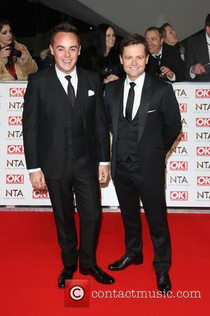 Anthony McPartlin and Declan Donnelly - The National Television Awards (NTA's) 2015 held at the O2 - Arrivals at The...