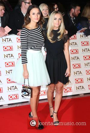 Lucy Watson and Tiffany Watson - The National Television Awards (NTA's) 2015 held at the O2 - Arrivals at The...