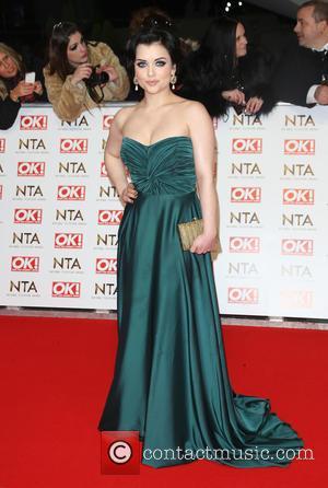 Shona McGarty - The National Television Awards (NTA's) 2015 held at the O2 - Arrivals at The National Television Awards...