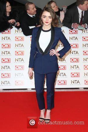 Maisie Williams - The National Television Awards (NTA's) 2015 held at the O2 - Arrivals at The National Television Awards...