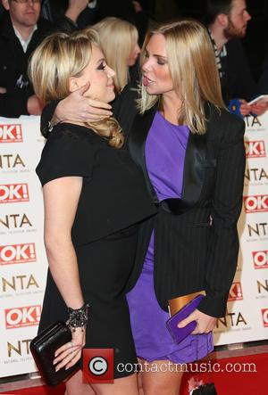 Samantha Womack and Rita Simons
