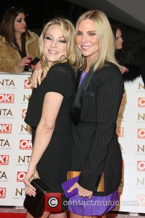 Samantha Womack and Rita Simons - The National Television Awards (NTA's) 2015 held at the O2 - Arrivals at The...
