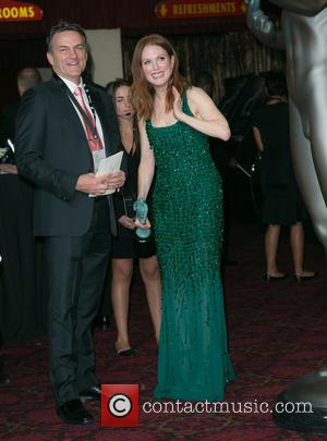 Stephen Huvane and Julianne Moore