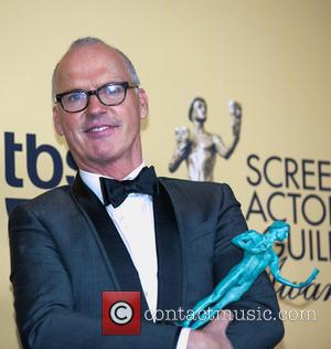 Michael Keaton - A variety of stars were photographed in the press room at the 21st Annual SAG Awards which...