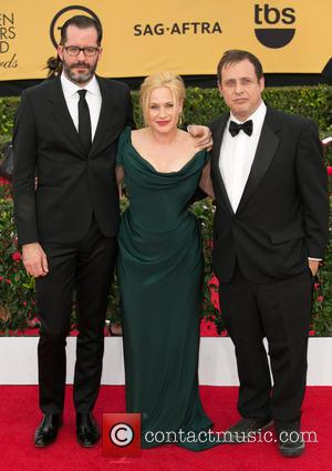 Eric White, Patricia Arquette and Richmond Arquette