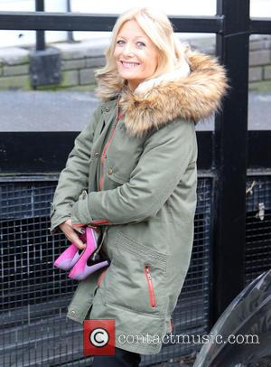 Gaby Roslin - Gaby Roslin outside ITV Studios - London, United Kingdom - Thursday 22nd January 2015