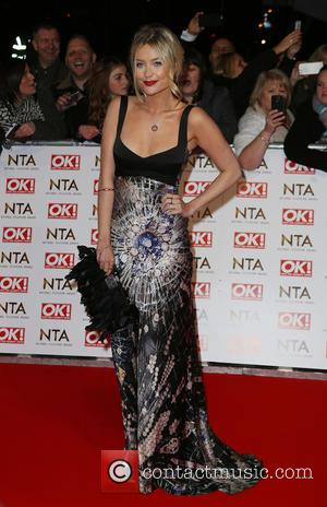 Laura Whitmore - A host of British television stars were photographed on the red carpet at The National Television Awards...
