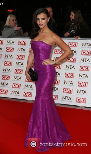 Lucy Mecklenburgh - A host of British television stars were photographed on the red carpet at The National Television Awards...