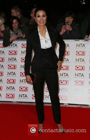 Melanie Sykes - A host of British television stars were photographed on the red carpet at The National Television Awards...