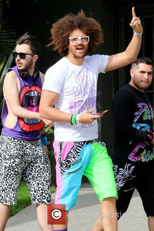 One half of the American duo 'LMFAO' Redfoo was spotted out and about in West Hollywood, Beverly Hills, California, United...