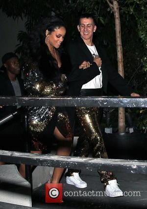 Rihanna and Jeremy Scott