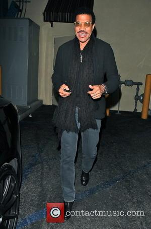 Lionel Richie - Celebrities dine at Palm Restaurant in Downtown Los Angeles - Los Angeles, California, United States - Thursday...