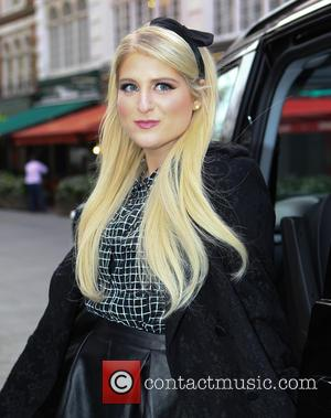 Meghan Trainor - Celebrities leave Global House at Leicester Square - London, United Kingdom - Thursday 22nd January 2015
