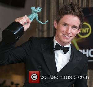 Eddie Redmayne - 21st Annual SAG Awards - Press Room at Los Angeles Shrine Exposition Center at Los Angeles Shrine...