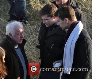 Jim Sheridan, Jack Reynor and Theo James