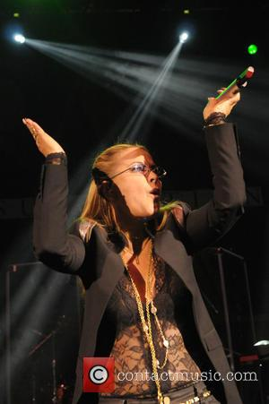 Anastacia - American singer-songwriter Anastacia performs at the O2 Shepherd's Bush Empire in London at Shephards Bush Empire, Shepherd's Bush...