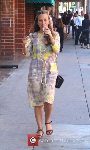 Jennifer Meyer - Jennifer Meyer, jewelry designer and wife of Tobey McGuire, spotted out and about in Beverly Hills -...