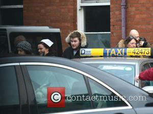 Jack Reynor - Actors Jack Reynor & Theo James spotted on the set of Jim Sheridan's