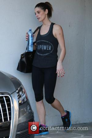 Ashley Greene - Ashley Greene leaves her gym with a visible bruise on her left arm at West Hollywood -...