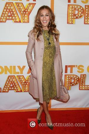 Sarah Jessica Parker wearing Dolce and Gabbana - 'It's Only A Play' re-opening night at the Bernard B. Jacobs Theatre...