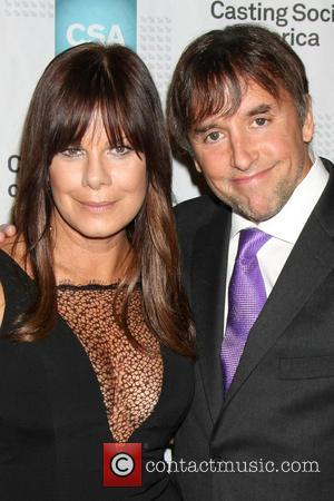 Marcia Gay Harden and Richard Linklater - 30th Artios Awards presented by Casting Society of America at Beverly Hilton Hotel...