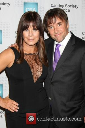 Marcia Gay Harden and Richard Linklater