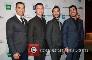 Murray Bartlett, Jonathan Groff, Frankie J. Alvarez and Raul Castillo