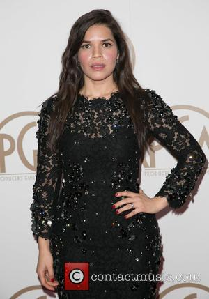 America Ferrera - A variety of stars were photographed on the red carpet as they attended the Producers Guild of...