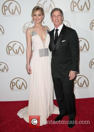 Jennifer Lawrence and Jon Feltheimer - A variety of stars were photographed on the red carpet as they attended the...