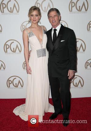 Jennifer Lawrence and Jon Feltheimer