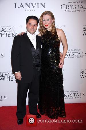 Oksana Baiul and Carlo Farina