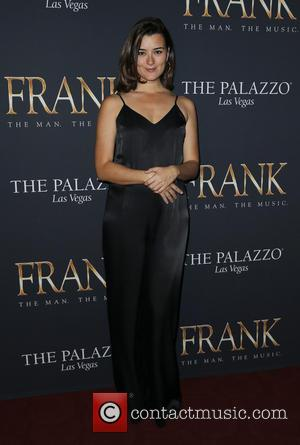 Cote de Pablo - 'FRANK The Man. The Music.' debut evening - Arrivals at Palazzo Theater - Las Vegas, Nevada,...
