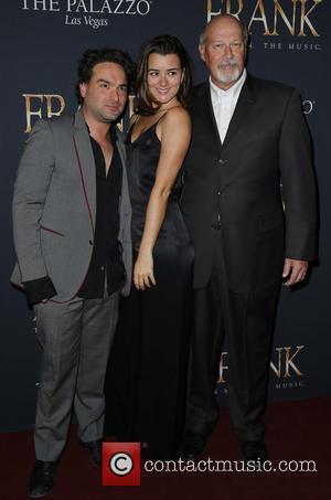 Johnny Galecki, Cote De Pablo and Stephen Eich