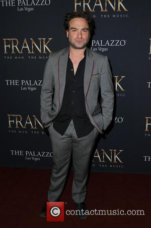 Johnny Galecki - 'FRANK The Man. The Music.' debut evening - Arrivals at Palazzo Theater - Las Vegas, Nevada, United...