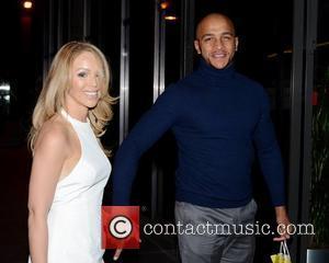Katie Piper and boyfriend James Black - Celebrities at 'The Saturday Night Show' studios - Dublin, Ireland - Saturday 24th...