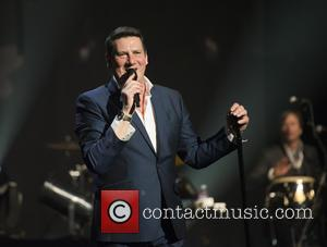 Tony Hadley - Shots of the British New wave band who formed in the late 70's Spandau Ballet as they...