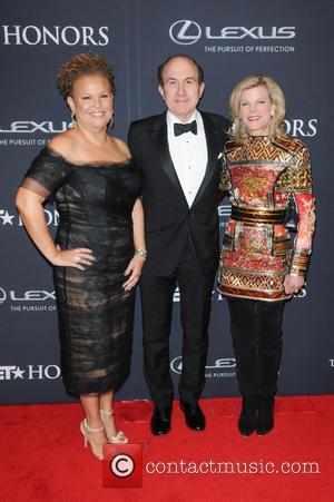 Debra Lee, Philippe Dauman and Deborah Dauman