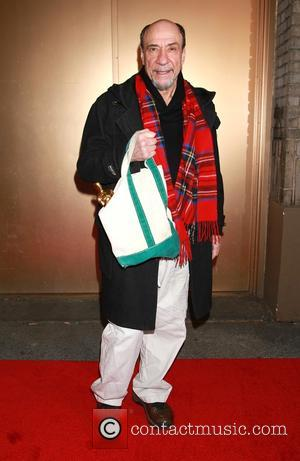 F. Murray Abraham with his Oscar in tote - Re-opening night of It's Only A Play at the Bernard B....