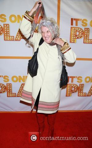 Tyne Daly - Re-opening night of It's Only A Play at the Bernard B. Jacobs Theatre - Arrivals. at Bernard...