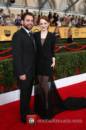 Emma Stone and Spencer Stone - 21st Annual Screen Actors Guild Awards - Arrivals at Shrine Auditorium, Screen Actors Guild...