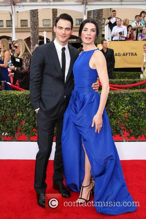 Julianna Margulies and Keith Lieberthal - 21st Annual Screen Actors Guild Awards Arrivals at The Shrine Auditorium - Arrivals at...