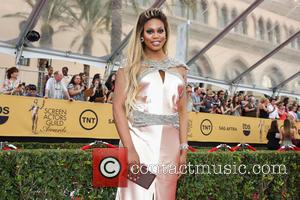 Laverne Cox - 21st Annual Screen Actors Guild Awards Arrivals at The Shrine Auditorium - Arrivals at Shrine Auditorium, Screen...