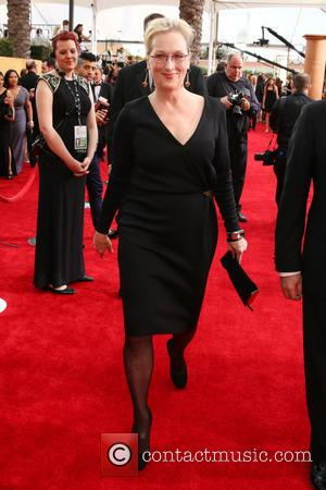 Meryl Streep - 21st Annual Screen Actors Guild Awards Arrivals at The Shrine Auditorium - Arrivals at Shrine Auditorium, Screen...