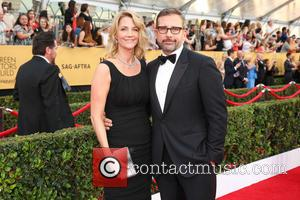 Steve Carell and Nancy Carell - 21st Annual Screen Actors Guild Awards Arrivals at The Shrine Auditorium - Arrivals at...