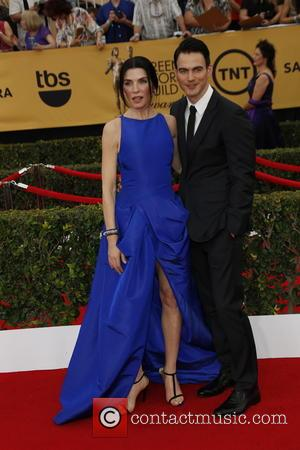 Julianna Margulies and Keith Lieberthal - 21st Annual Screen Actors Guild Awards - Arrivals at Shrine Auditorium, Screen Actors Guild...