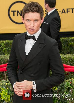 Eddie Redmayne - 21st Annual SAG (Screen Actors Guild) Awards at Los Angeles Shrine Exposition Center - Arrivals at Los...