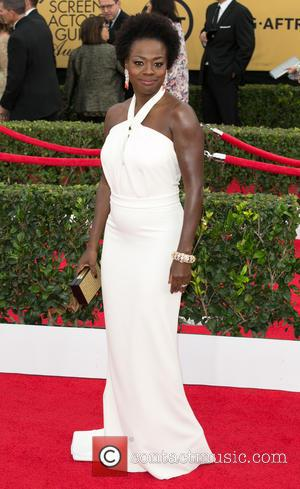 Viola Davis - 21st Annual SAG (Screen Actors Guild) Awards at Los Angeles Shrine Exposition Center - Arrivals at Los...