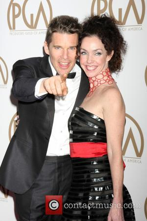 Ethan Hawke and sister - A variety of stars were photographed on the red carpet as they attended the Producers...