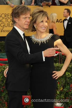 William H. Macy and Felicity Huffman - A host of stars were photographed on the red carpet as they arrived...
